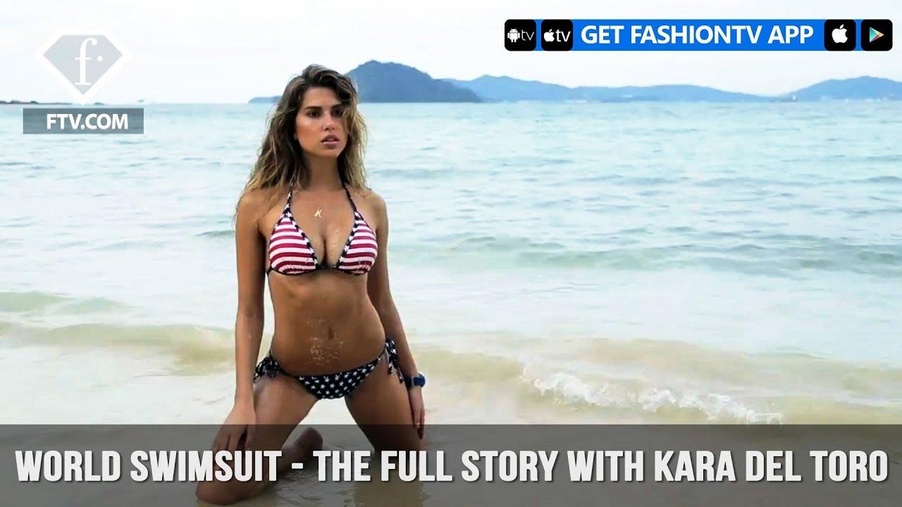 World Swimsuit - The Full Story with Kara Del Toro | FashionTV | FTV