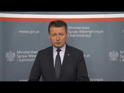 Minister Mariusz Błaszczak o podwyżkach dla służb