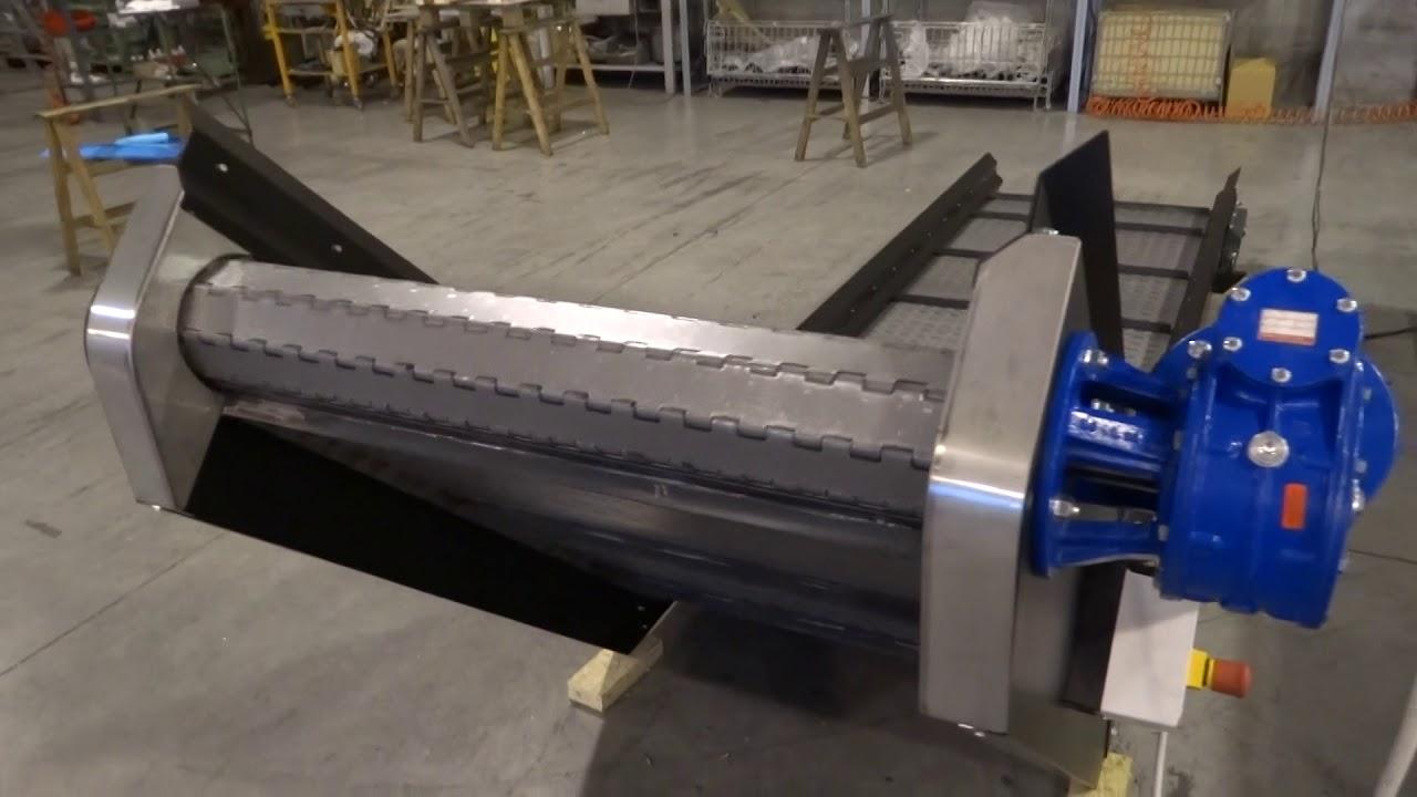 martiplast tapis roulant avec bande metallique m5400