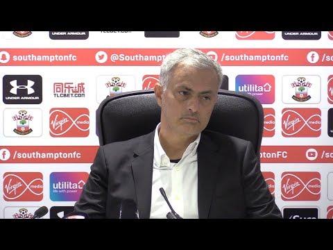 Southampton 0-1 Manchester United - Jose Mourinho Full Post Match Press Conference - Premier League