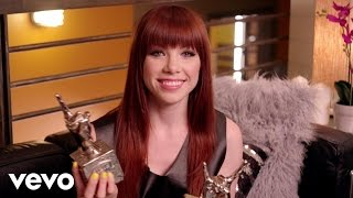 Carly Rae Jepsen - #VEVOCertified, Pt. 1: Award Presentation