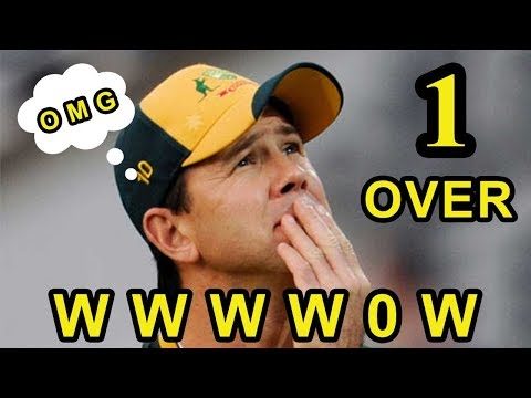 Unlucky Moment of Australia - Indian Bowler Taken 5 wickets in One Over