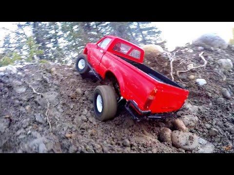 RC ADVENTURES - Impossible Hill Climb - Toyota Hilux Trail Finder 2 & Gelände II 4x4 Defender D90