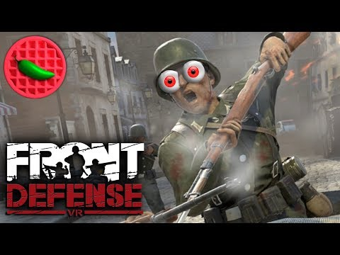 VINTAGE VIRTUAL COMBAT ACTION! -- Let's Play Front Defense (HTC Vive VR Gameplay)