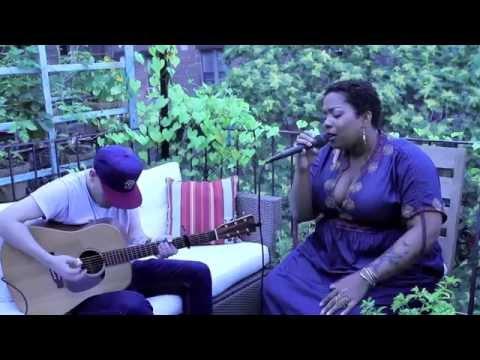 River Live Acoustic | Leon Bridges Cover | Crystal Monee Hall