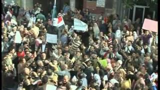 EGYPT RIOTS 1 FEB 2011