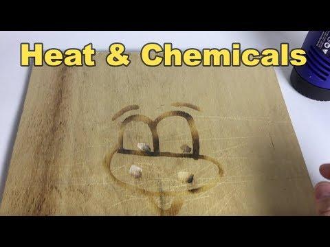 Hairdryer or Heat Gun? - DIY Chemical Woodburning