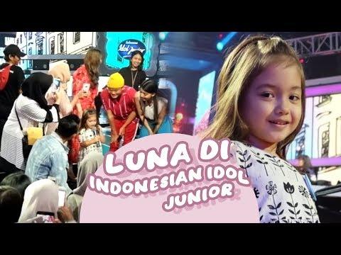 LUNA DI INDONESIAN IDOL JUNIOR - SPEKTAKULER SHOWCASE 1