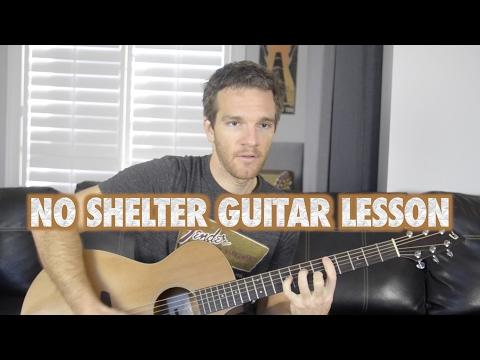 No Shelter Guitar Lesson