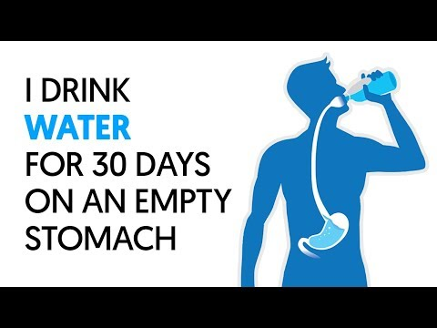 I Drank Water on an Empty Stomach for a Month and Here's What Happened