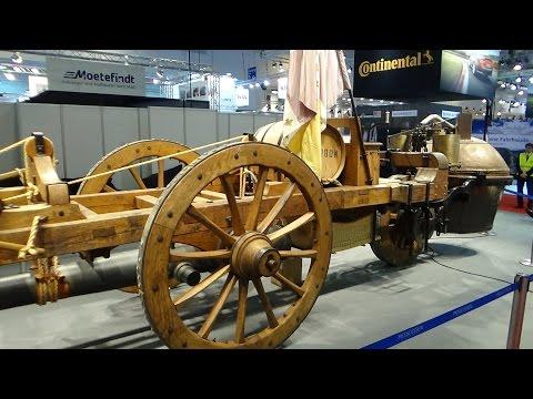 1769, steam car, Dampfwagen, Fardier de Cugnot