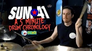 Sum 41: A 5 Minute Drum Chronology - Kye Smith [4K]