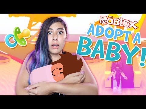 ADOPTING A BABY - Roblox