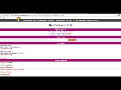 Wapka  tutorial part 2 - How to create a  Page/Folder with Seo Wapka in Hindi
