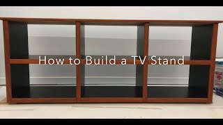 How to Build a Quality TV Stand DIY