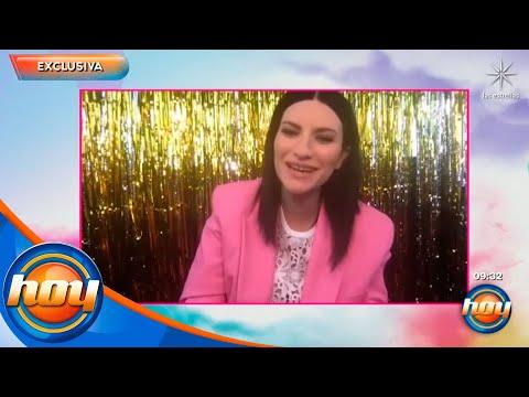 EXCLUSIVA: Laura Pausini habla de la emoción que sitió con su nominación al Óscar 2021 | Hoy