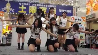 ひめキュンフルーツ缶 土曜夜市特設ステージ 場所:大街道アーケード(...