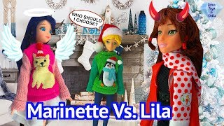 Ladybug Lila VS Marinette Adrien Picks? SEASON 3! FULL - EPISODE 2 | MIRACULOUS Christmas Kiss Doll