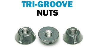 Installing & Removing Tri-Groove Tamper Proof Security Nuts | Fasteners 101