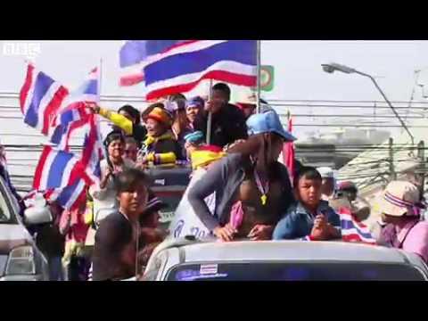 BBC News   Thai opposition holds mass rally in Bangkok