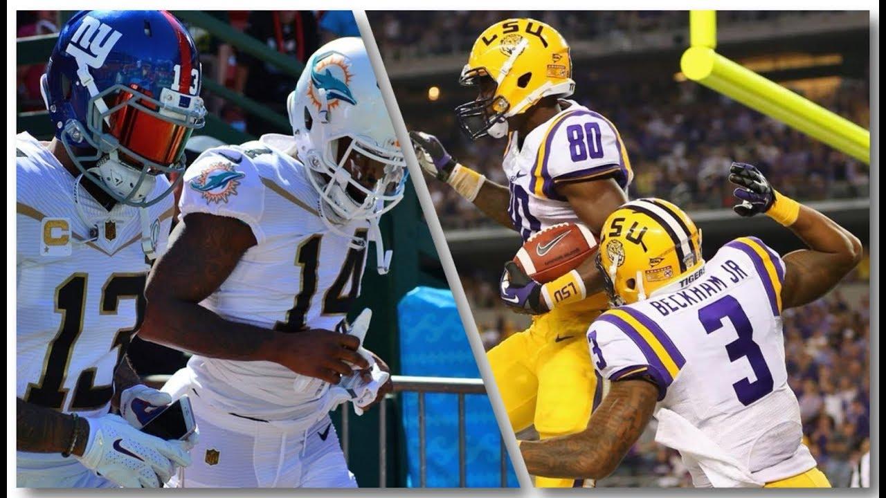 Odell Beckham Jr. & Jarvis Landry || LSU || NFL ...