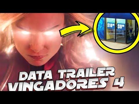 POSSIVEL DATA DO TRAILER DE VINGADORES 4! 😱🔥