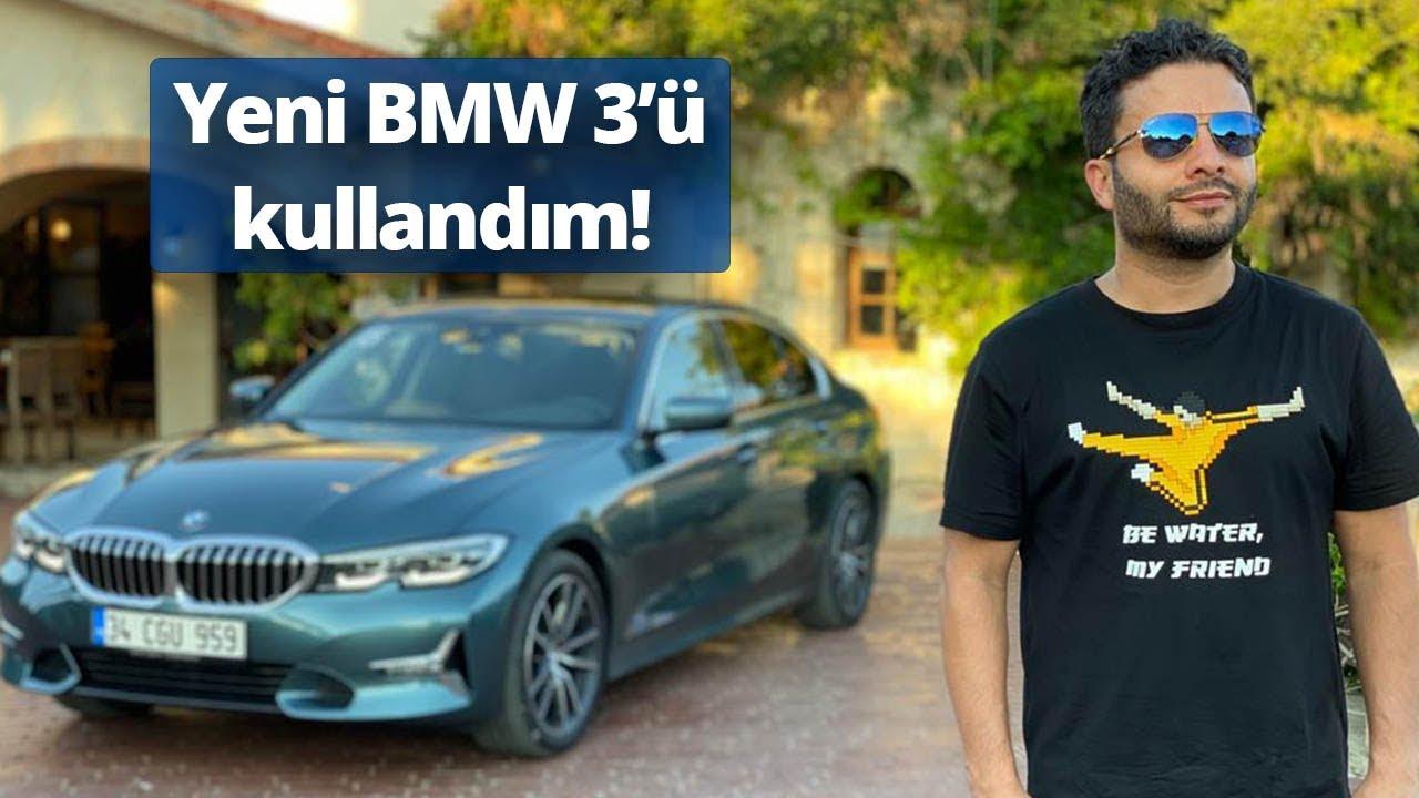 YENİ BMW 3'E BİNDİM