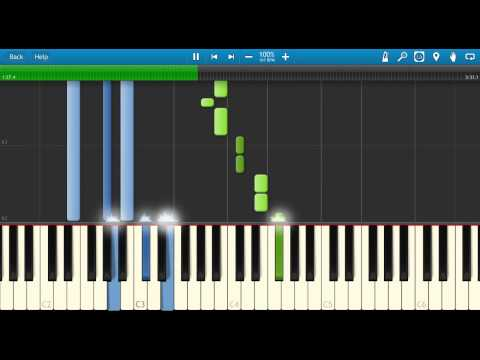Rob Thomas - Little Wonders (Meet The Robinsons Soundtrack)   Piano Synthesia