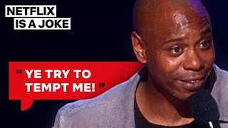 Dave Chappelle Likes To Drive His Porsche Next To Amish People | Netflix Is A Joke
