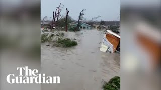 Hurricane Dorian wreaks havoc on Bahamas as 'catastrophic' Category 5 storm