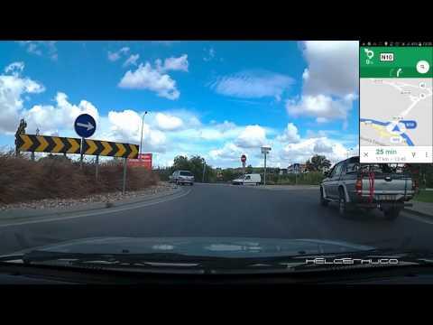Testando GPS Google Maps no Automóvel