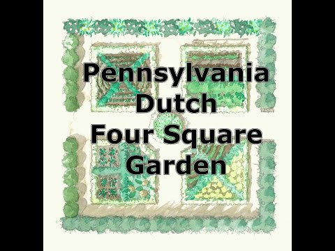 Pennsylvania Dutch Four Square Garden Presentation: Part 1