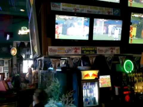 USA lunatics at Looney's Pub in Bel Air