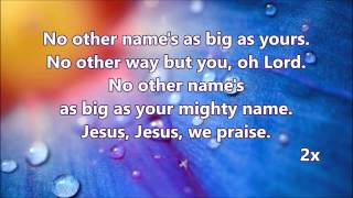 We praise (We praise you mighty god)
