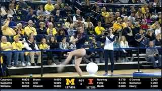 Mary Jane Horth (Illinois-Champaign) 2015 Floor Vs Michigan 9.7