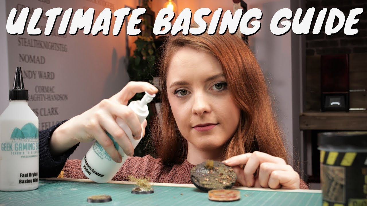 Download The ULTIMATE miniature basing guide - UP YOUR GAME