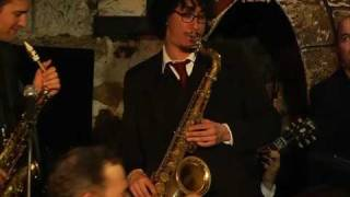 """DARY -GRASSO Quintet """"Lester leaps in""""(Lester YOUNG)"""