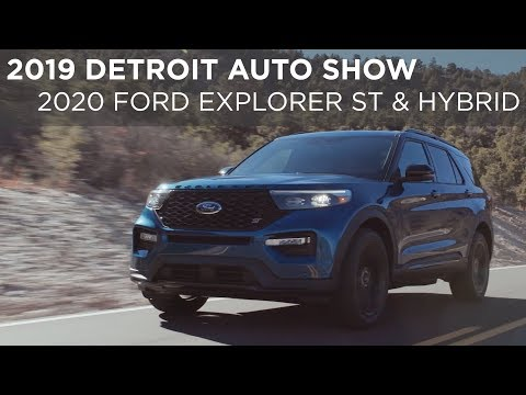 Detroit Auto Show    Ford Explorer ST & Hybrid   Driving.ca