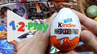 20 surprise eggs, Kinder Surprise, Disney fairies, Spongebob, Hello kitty, Disney, 20 surprise eggs