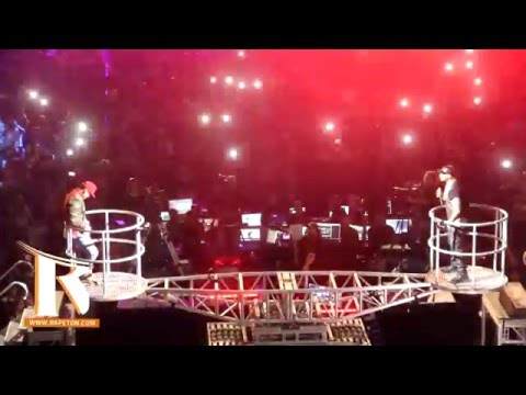 Daddy Yankee Vs Don Omar cara a cara en 'La Batalla Final' del concierto The Kingdom