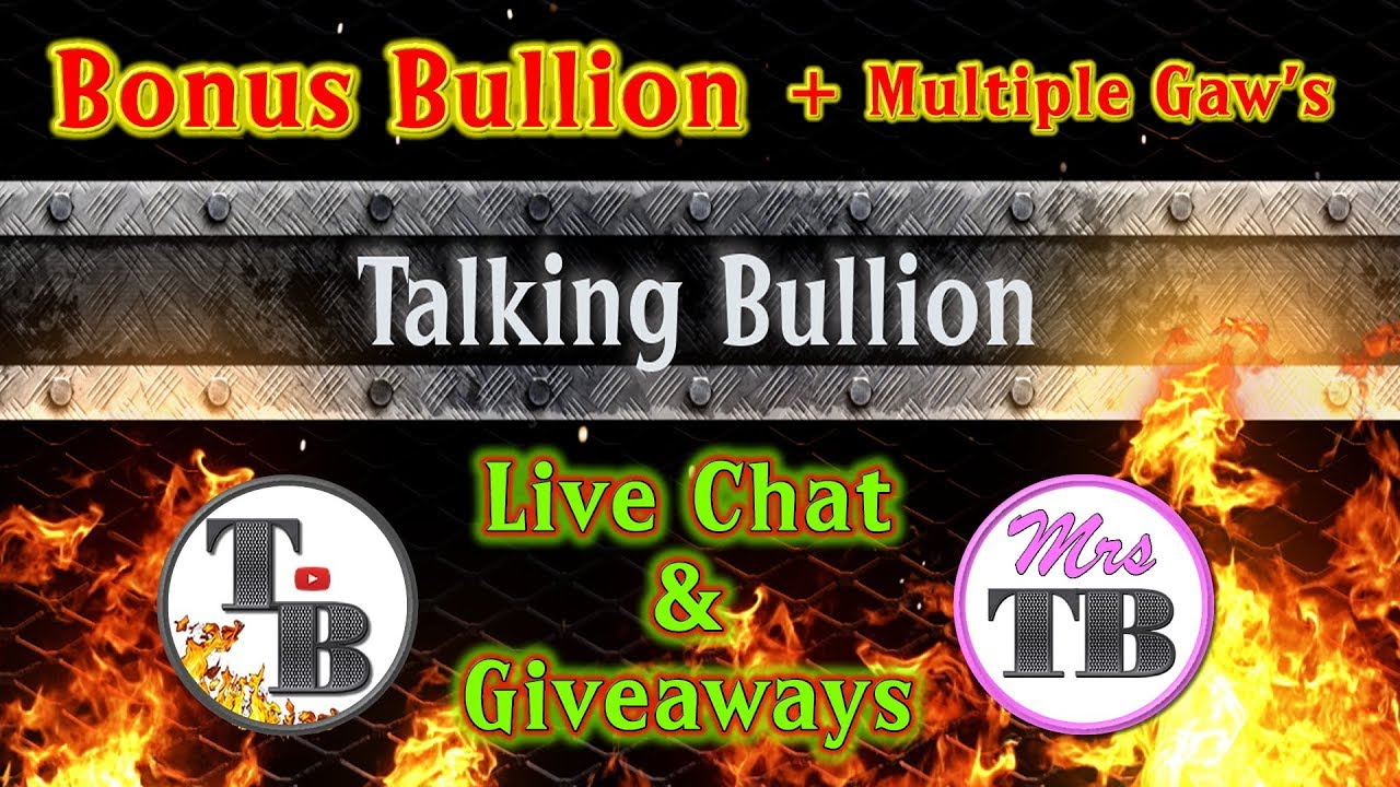 Live Stream with Mr. & Mrs. Talking Bullion with $ilver $teeler and Winning Image Photography