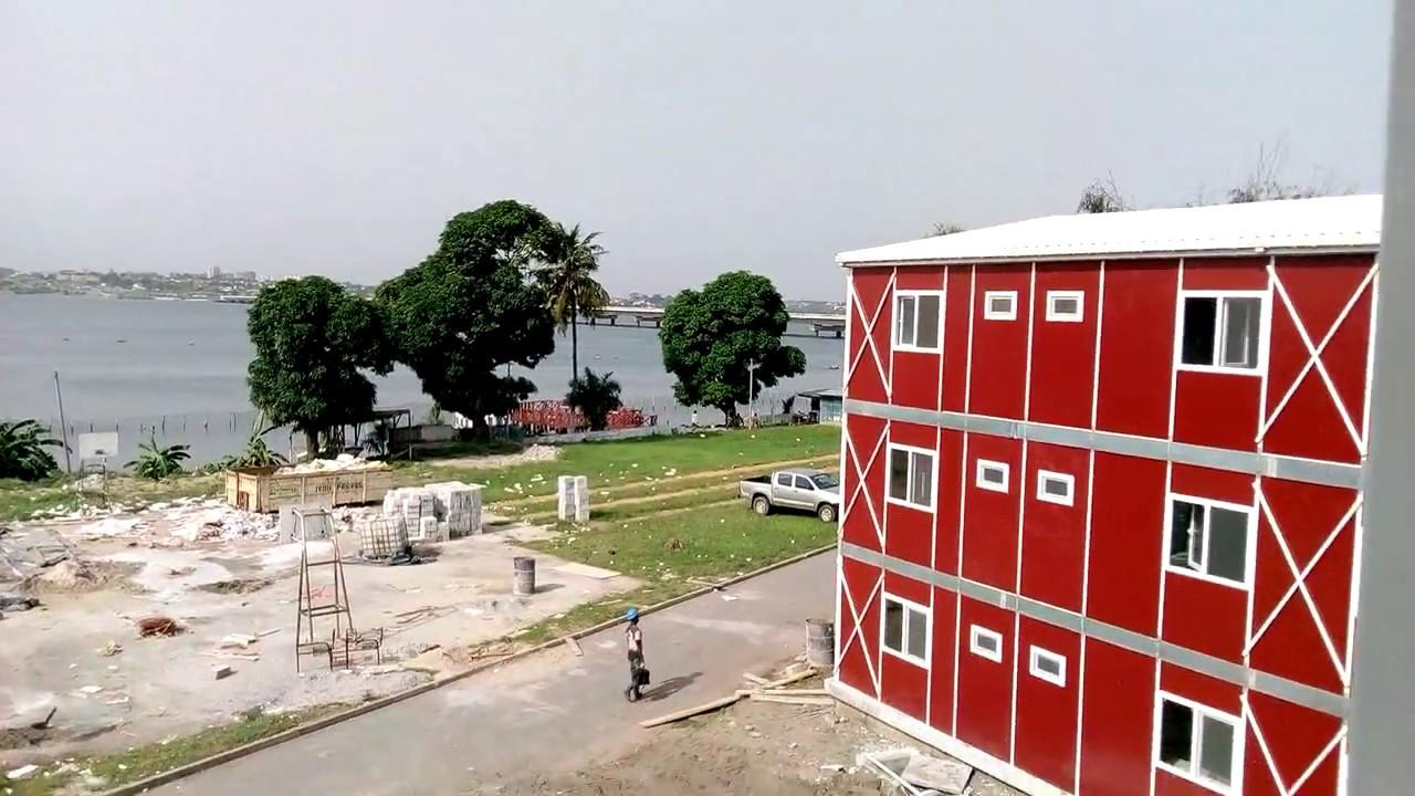 Abidjan Maison : Batiments préfabriqués cote d ivoire abidjan youtube