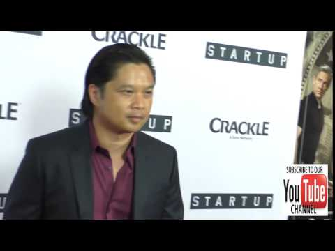 Dat Phan at the Premiere Of Crackle's Startup at London Hotel in West Hollywood