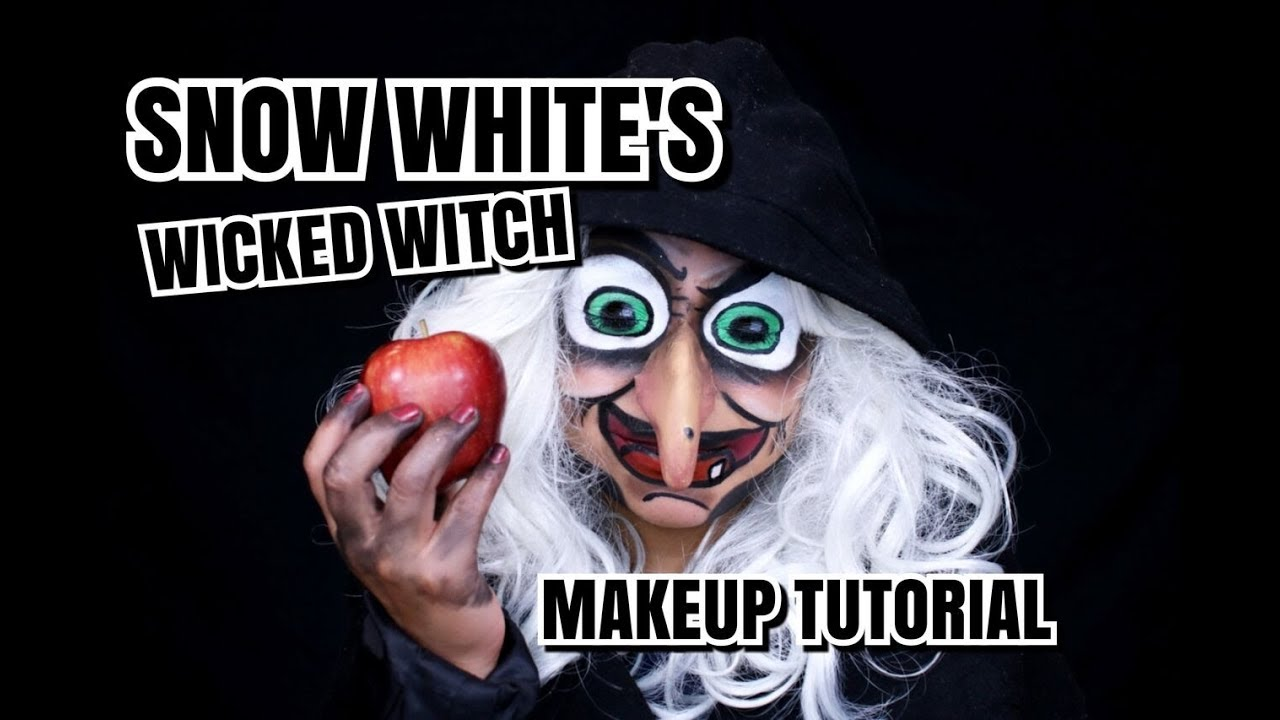 Snow White S Wicked Witch Makeup Tutorial