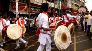 Adarsh Dhol pathak performance Pune