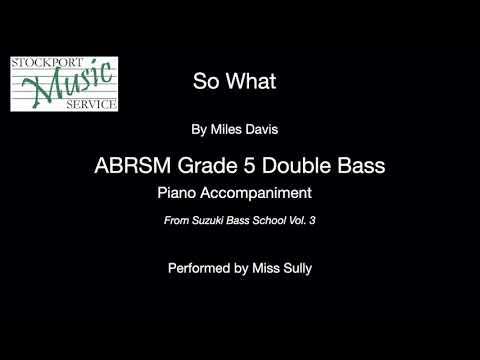 GRADE BY GRADE DOUBLE BASS GRADE 5