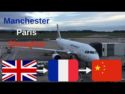 ✈️Flight report✈️ Air France Manchester to Paris to Shanghai, A320 & A380