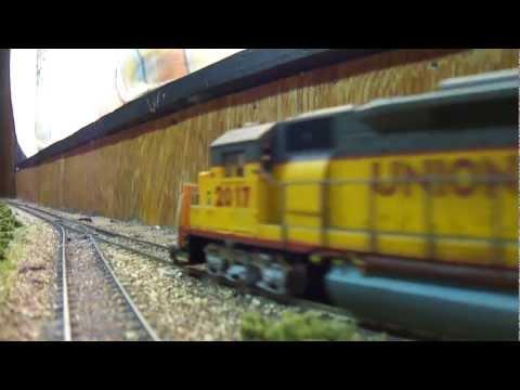 Union Pacific & Alaska EMD's GP-40 Mixed Freight Train