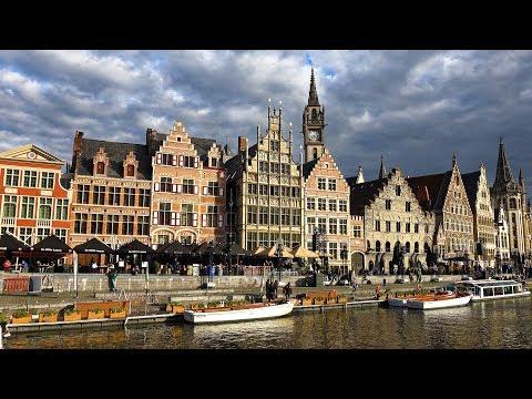 Historic Ghent, Belgium In 4K Ultra HD