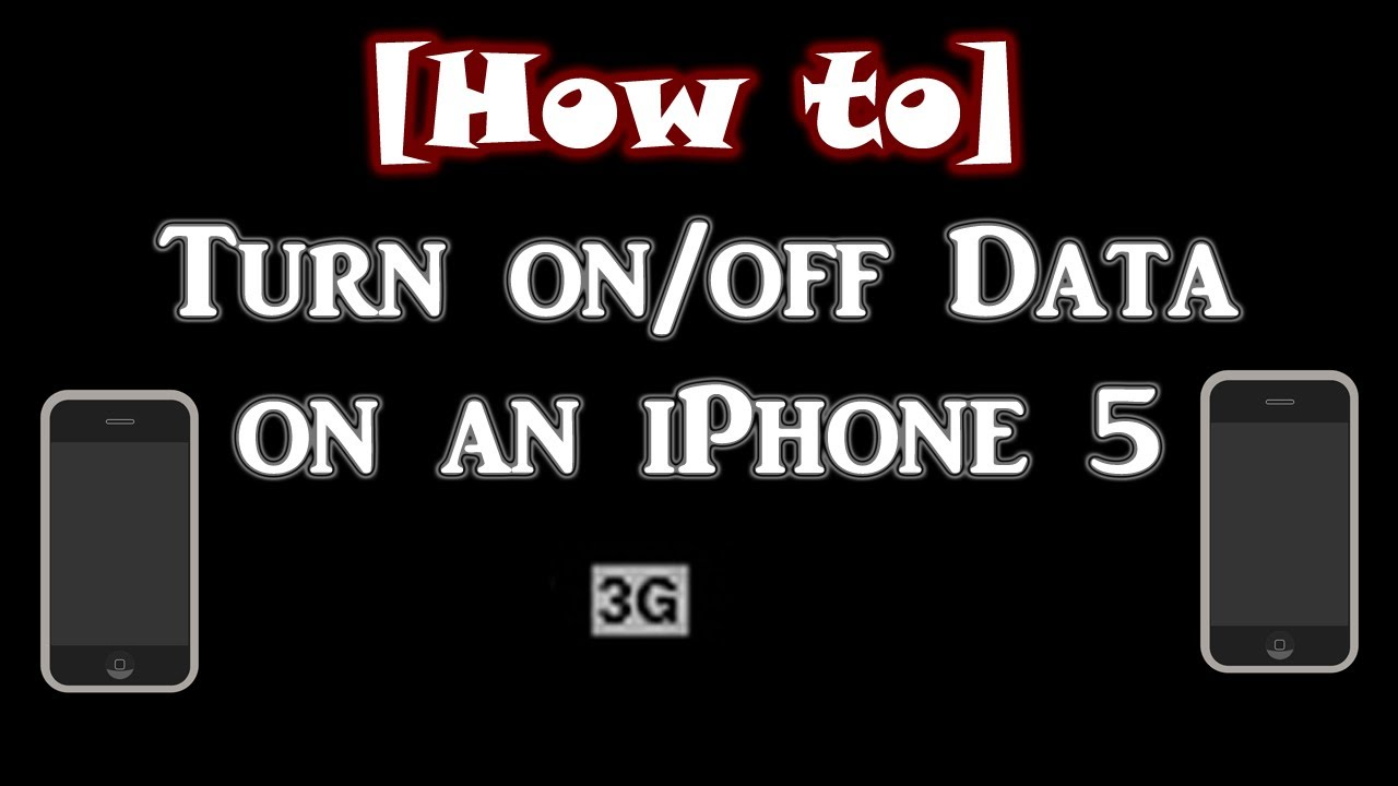 how to turn off iphone 5 how to turn data on an iphone 4s 5 19176
